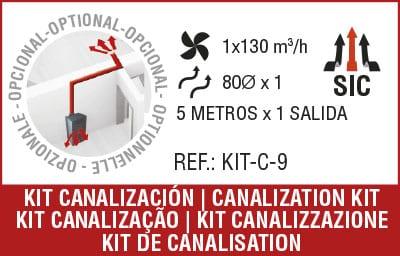 kit de canalización
